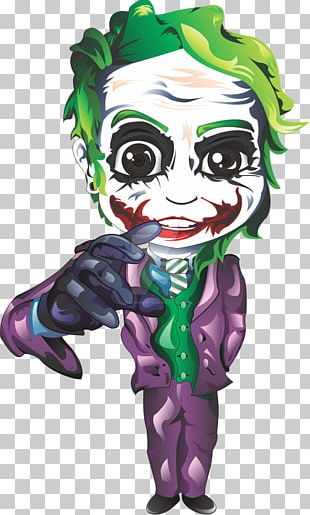 Joker Batman Supervillain PNG