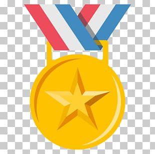 Silver Medal Emoji Gold Medal Award PNG