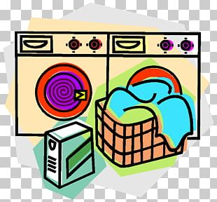 Laundry Room Washing Machine Clothes Dryer PNG