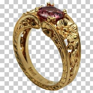 Ruby Ring Jewellery Gold Tanzanite PNG