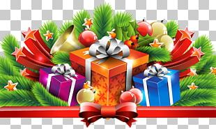Christmas Gifts Decor PNG