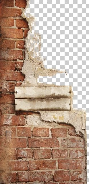 Brick Stone Wall Cement PNG
