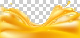 Juice Yellow Amber PNG