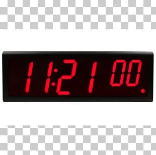 Digital Clock Alarm Clocks Network Time Protocol Time Server PNG