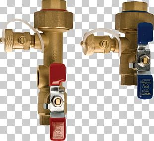 Tankless Water Heating Isolation Valve Relief Valve PNG