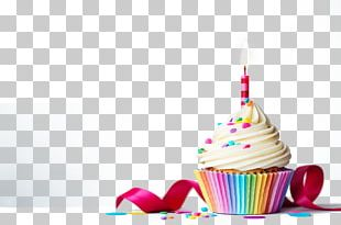 Cupcake Birthday Cake Stock Photography PNG