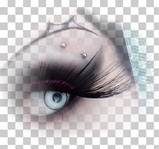 Eyelash Extensions Eye Shadow Cybergoth Cosmetics PNG
