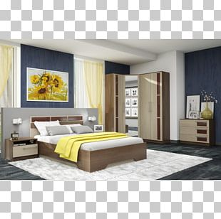 Bed Frame Bedroom Interior Design Services Furniture Cabinetry PNG