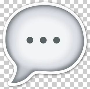 Emoji Emoticon Speech Balloon Thought PNG