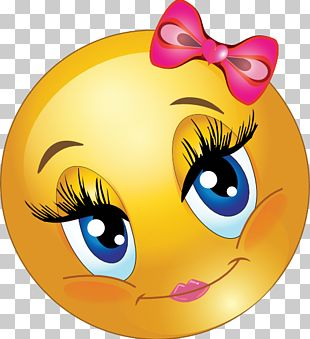 Smiley Emoticon Blushing Face PNG