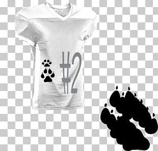 T-shirt Shoulder Sportswear White Sleeve PNG
