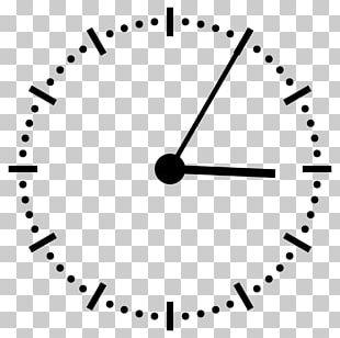 12-hour Clock Digital Clock Station Clock Clock Face PNG