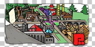 City Pixelgate Networks House Cartoon PNG