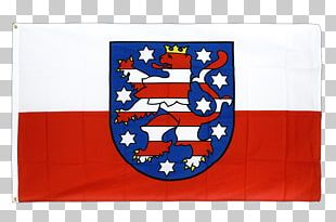 Flag Of Thuringia States Of Germany Flag Of Thuringia Fahne PNG
