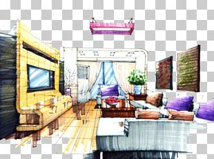 Living Room Interior Design Services House Painter And Decorator Entryway PNG