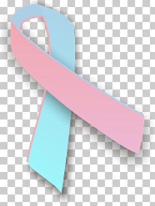 Pink And Blue Ribbon Awareness Ribbon Pink Ribbon PNG
