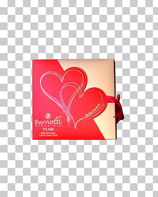 Chocolate Love Valentine's Day Biscuit Heart PNG