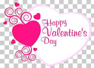 Valentine's Day Greeting Card Wish Heart PNG