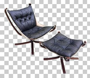 Eames Lounge Chair Foot Rests Sling Club Chair PNG