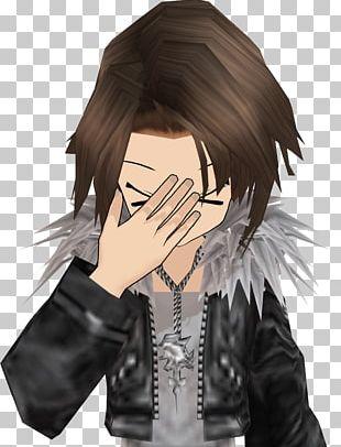 Chibi Final Fantasy VI Facepalm Squall Leonhart Mangaka PNG
