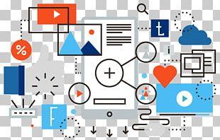 Social Media Marketing Social Network Blog PNG