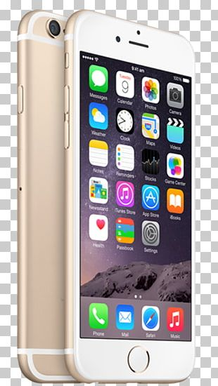 IPhone 6 Plus Apple Telephone Gold PNG