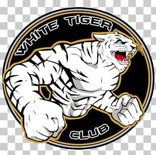 White Tiger Animal Symbol Logo PNG