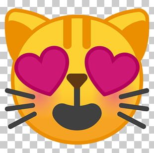 Kittens Face With Tears Of Joy Emoji Noto Fonts Smile PNG