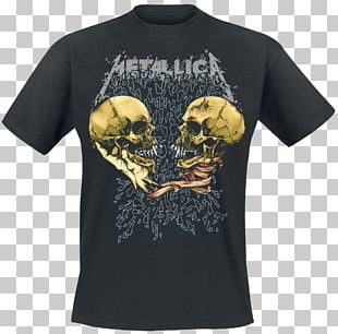 T-shirt Metallica Sad But True ...And Justice For All PNG