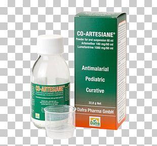 Therapy Artemisinin Liquid Artemether/lumefantrine Syrup PNG