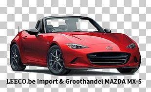 2016 Mazda MX-5 Miata Mazda Motor Corporation Car 2018 Mazda MX-5 Miata PNG