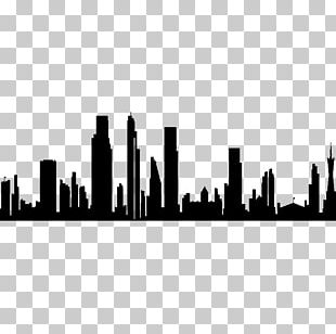Skyline Silhouette City High-rise Building Photography PNG