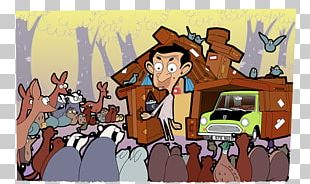Cartoon The Return Of Mr. Bean Hair By Mr. Bean Of London Animated Series ITV PNG
