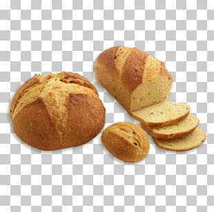 Rye Bread Sourdough Small Bread Bun PNG