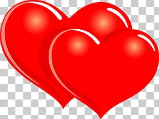 Valentine's Day Love Hearts PNG