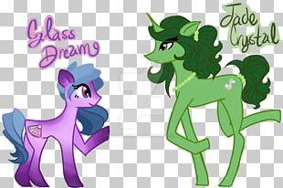 Horse Illustration Cartoon Animal Font PNG