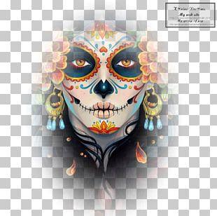 La Calavera Catrina Day Of The Dead Artist PNG