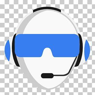 Blue Audio Equipment Sunglasses PNG