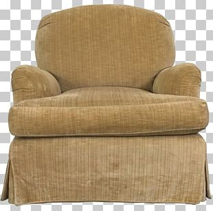Slipcover Club Chair Couch Recliner PNG