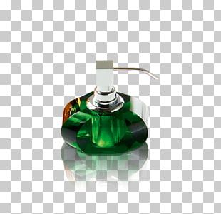 Soap Dishes & Holders Bathroom Green Glass Dozownik PNG