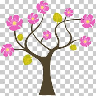 Wall Decal Painting Mural Floral Design PNG