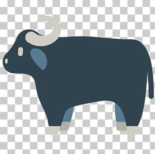 Cattle Water Buffalo Emoji Ox American Bison PNG