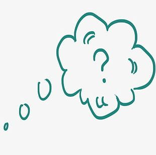Clouds Think Bubbles PNG