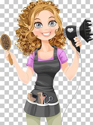 Comb Hairdresser Hair Dryer PNG