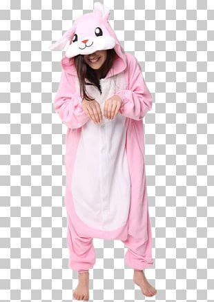 Pajamas European Rabbit Hoodie Tracksuit Onesie PNG