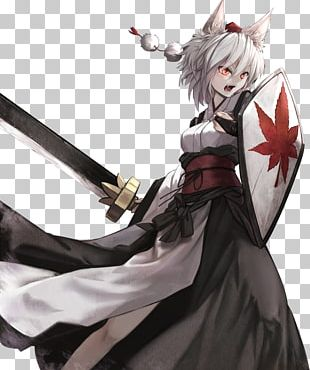 Touhou Project Long Hair Canities Inubashiri PNG