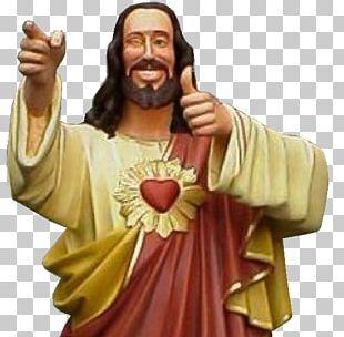 Jesus Dogma Buddy Christ Thumb Signal PNG