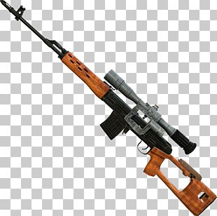 Dragunov Sniper Rifle Firearm PNG