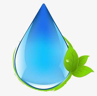 Illustration Of Blue Water Droplets PNG