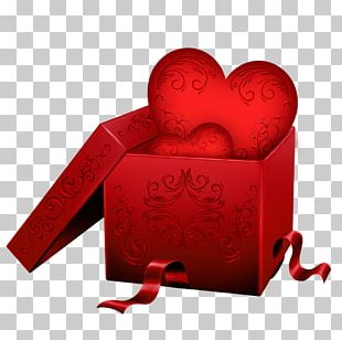 Valentine's Day Gift Paper PNG